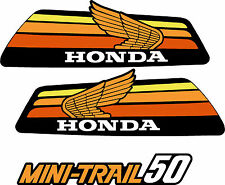 HONDA Z50 1978 Tank  Decals & Sidecover Logo