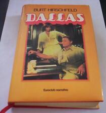 DALLAS Burt Hirschfeld 1981 Euroclub Novela libro