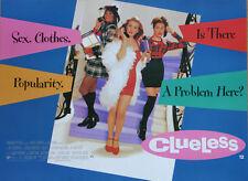 Original Vintage UK Mini Quad Poster Clueless Alicia Silverstone