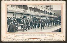 052 CHILE ARGENTINA Bs. AIRES DELEGADOS CHILENOS UNDIVIDED POSTCARD 1903