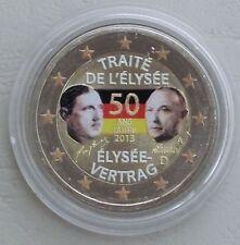 2 euros Alemania 2013 elíseo-tratado en color II.