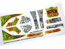 MOTU Masters of the Universe Battle Ram replacement Sticker