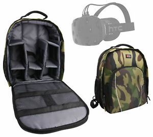 Camouflage Backpack/Rucksack for HTC Vive Virtual Reality Headset
