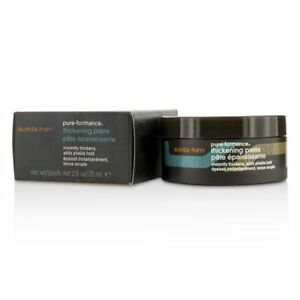 AVEDA Mens Pure-Formance Thickening Paste Hair 2.6 OZ 75ml NEW 100% AUTHENTIC