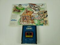 Atari 2600 Oink! by Activision Game Cartridge & Manual