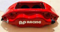 SALE- AP RACING 4 Piston PERFORMANCE BRAKE Calipers -PAIR CP7609 RED