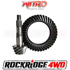 "NITRO RING & PINION for Toyota 8"" Reverse Landcruiser FJ80 FZJ80 | 4.56 Ratio"