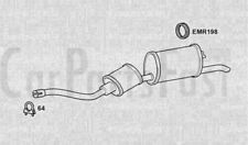 Exhaust Rear Box Peugeot 505 2.0 Petrol Estate 10//1985 to 12//1991