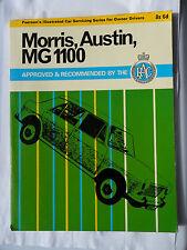MORRIS AUSTIN MG 1100 WORKSHOP MANUAL RAC PEARSONS TRAVELLER COUNTRYMAN SUPER