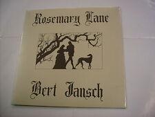 BERT JANSCH - ROSEMARY LANE - LP VINYL NEW SEALED 2016