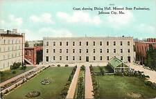 Vintage Postcard Dining Hall Missouri State Penitentiary Jefferson City MO