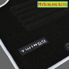 Tapis De Sol Renault Twingo 1 I De 1993 à 2007 Velours Edition Logo Brodé NEUFS