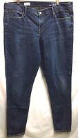 GAP 1969 Women's Stretch Denim Legging Jeans 35L Washed Ink 42 waist / 32 inseam
