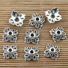 180pcs Tibetan silver flower bead caps EF1861
