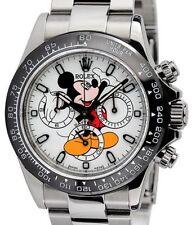 Rolex Analog Ceramic Strap Wristwatches