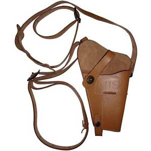 US WWII .45 Cal M7 Brown Shoulder Holster - Reproduction a963