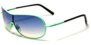 VARIETY COLORED SHIELD KIDS SUNGLASSES