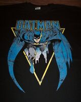 VINTAGE STYLE BATMAN Dc Comics T-Shirt LARGE NEW