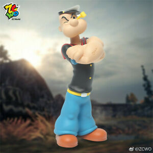 "ZCWO 23.6"" Popeye the Sailor Anime Collectable Scale Action Figures Doll Toys"