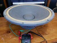 JBL LE15A Woofer - JBL LE15A 15 Inch Woofer Speaker 8 Ohm - Single - Need Refoam