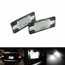 Eclairage Plaque d'immatriculation LED Pour VW Golf Tiguan 5N Touareg 7L Audi TT