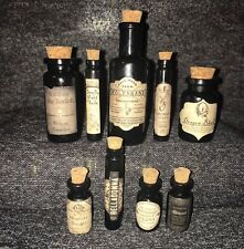 LABELS ONLY Knockturn Alley Small Apothecary Potion Bottles Harry Potter
