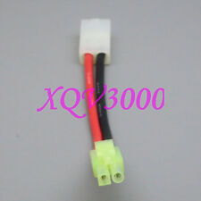 Tamiya Female to Mini Tamiya Male 14AWG Extension wire Airsoft Charger / Battery