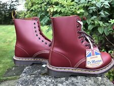 Dr Martens 1460 Oxblood 8Eyelet Leather Boots Made In England Size UK 3 EU 36