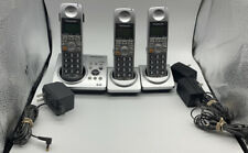 PANASONIC KX-TG1031S Cordless Phone Answering System W/2 Handsets Complete!