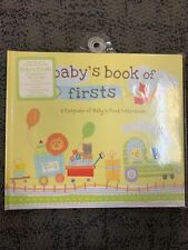 Baby's Book Of Firsts Memory Book New