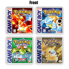 Pokemon Red Blue Green Yellow Pokemon Collection 4x Cup coasters Gameboy gifts