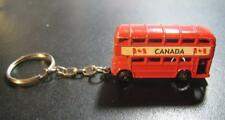 ENGLISH OLD TWO FLOOR BUS CANADA KEYCHAIN OLD