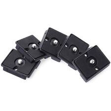 5x Quick Release Plate For Manfrotto 200PL-14 496RC2/498RC2/486RC 804RC2 DC464