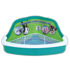 Manufacturing Plastic Scatterless Lock-N-Litter Small Pet Pan- Colors May Vary