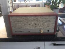 Vintage Dansette Viva Record Player None Working Great For Restoration
