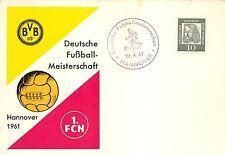 BG1894 sport hannover borrusia dortmund fussball CPSM 14x9.5cm germany