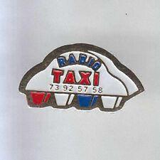 RARE PINS PIN'S .. AUTO CAR TAXI PUY DE DOME 63  ~7A