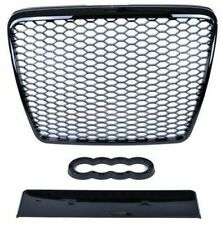 AUDI A6 4F RS STYLE 2008-2011 GLOSS BLACK HONEYCOMB DEBADGED MESH SPORTS GRILL