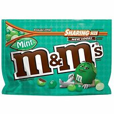 NEW SEALED MINT M&M'S MILK CHOCOLATE CANDIES SHARING SIZE 9.60 OZ BAG MARS