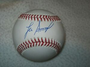 LEE SMITH HOF AUTOGRAPHED SIGNED MLB BASEBALL CARDINALS CHICAGO CUBS TRI STAR
