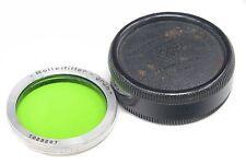 ROLLEI TLR RI Green  Bay I + Bakelite Case  - Rolleiflex Rolleicord -