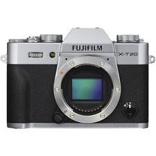 Brand New Fujifilm X-T20 Mirrorless Digital Camera Body Only 24.3MP - Silver