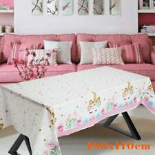 180x110cm Unicorn Tablecloth Party Supplies Table Cover Birthday Party Decor