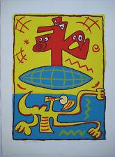 DIDRY REGIS SÉRIGRAPHIE 1987 SIGNÉE CRAYON NUM/200 HANDSIGNED SILKSCREEN ENSAD