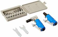 Astro 1221 Die Grinder Kit and 8 Piece Rotary Burr Set Tool New Free Shipping