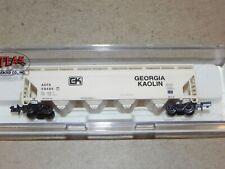 Atlas N Ga Georgia Kaolin ACF 4 Bay Centerflow Hopper Car NIB #3961