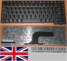 CLAVIER QWERTY UK ASUS X50R X50RL X50N X50GL 9J.N0D82.10U 04GN9V1KUK13-2 Noir