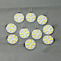 10stk. G4 LED Lampe Stiftsockel Mini Leuchtmittel 5050 Warmweiß Energiesparend