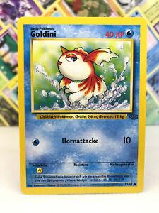Goldini Pokémon Karte - Dschungel Set 53/64 Deutsch - Low Played