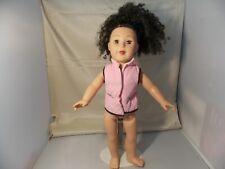 """Madame Alexander 18"""" Doll Dark Curly Hair Brown Eyes 2009"""